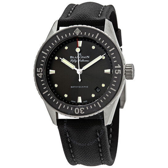 Blancpain Fifty Fathoms Bathyscaphe Automatic Men's Watch 5100B 1110 B52A | Joma Shop