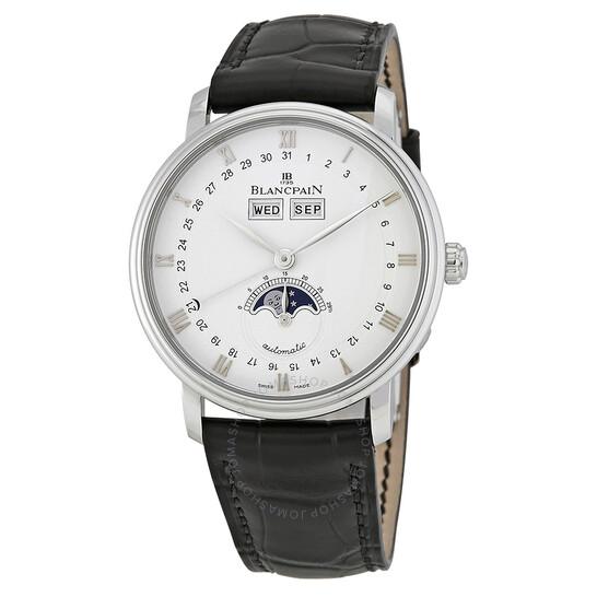Blancpain Quantieme Complet Automatic White Dial Men's Watch 6263-1127-55B   Joma Shop
