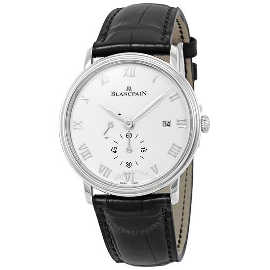 Blancpain Villeret Small Seconds Date & Power Reserve Mechanical Men's Watch 6606-1127-55B   Joma Shop