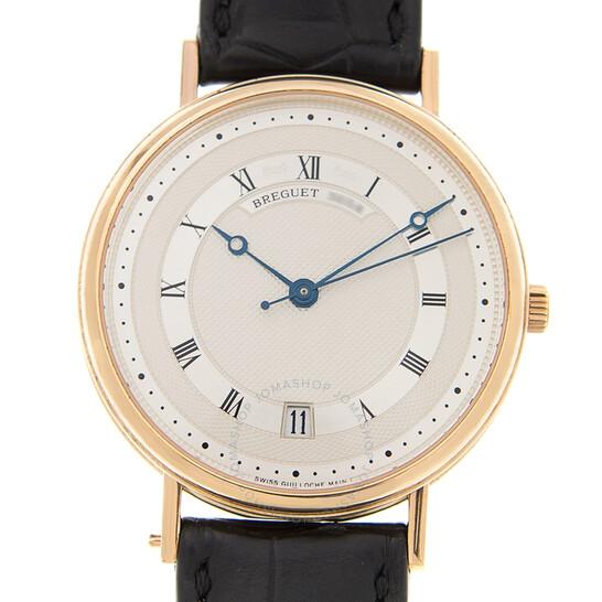 Breguet Classique Automatic 18kt Yellow Gold Silver Dial Men's Watch 5930BA/12/986 | Joma Shop