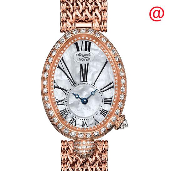 Breguet Reine de Naples Mother of Pearl 18kt Rose Gold Ladies Watch 8928BR51J20DD00   Joma Shop