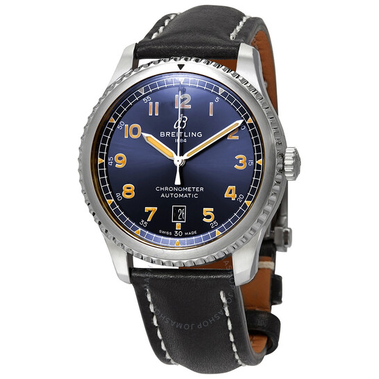 Breitling Avaitor 8 Automatic Chronometer Blue Dial Men's Watch A17315101C1X4 | Joma Shop