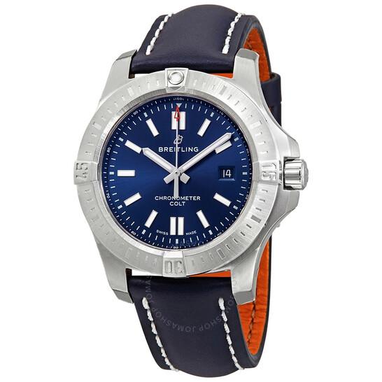 Breitling Chronomat Colt Automatic Chronometer Blue Dial 44 mm Men's Watch A17388101C1X1 | Joma Shop