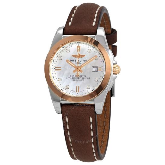 Breitling Galactic 29 Quartz Diamond Ladies Watch C7234812-A792-484X.A12BA.1   Joma Shop