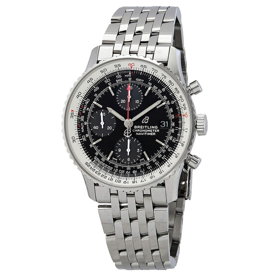 Breitling Navitimer 1 Chronograph Automatic Black Dial Men's Watch A13324121B1A1 | Joma Shop