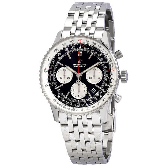Breitling Navitimer 1 Chronograph Automatic Chronometer Black Dial Men's Watch AB0121211B1A1 | Joma Shop