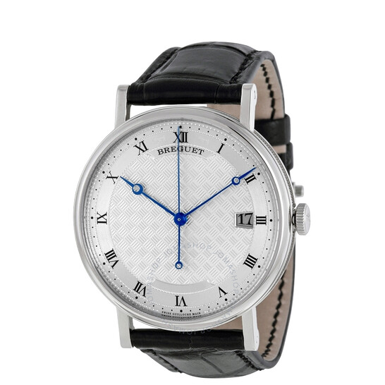 Breguet Classique Silver Dial 18kt White Gold Men's Watch 5177BB129V6   Joma Shop
