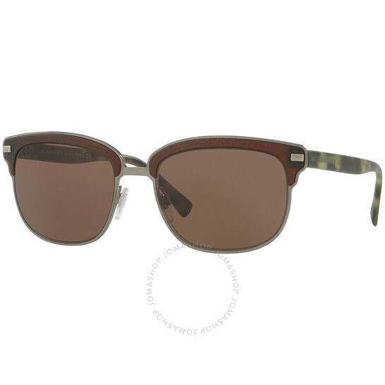 BurberryBrown Browline Men's Sunglasses (BE4232-361973-56)