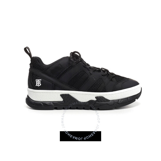 Burberry Low-top Mesh And Nubuck Detail Union Sneakers, Brand Size 42 (US Size 9) | Joma Shop