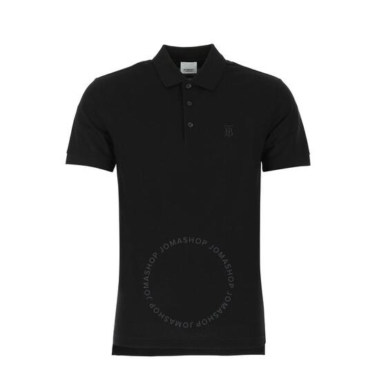 Burberry Men's Black Piquet Polo Shirt, Brand Size X-large   Joma Shop