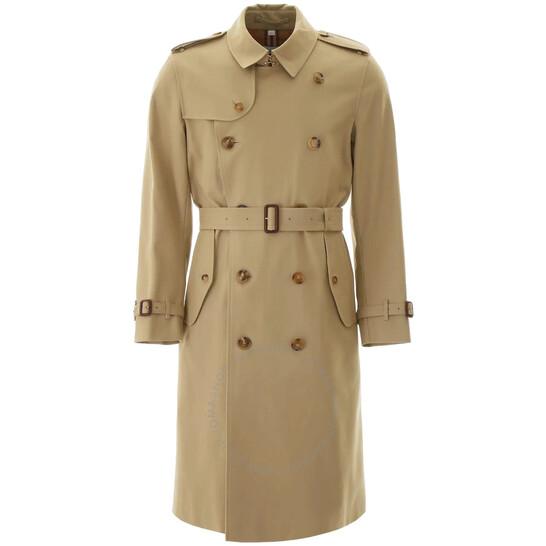 Burberry Men's Long Kensington Trench Coat, Brand Size 48 | Joma Shop