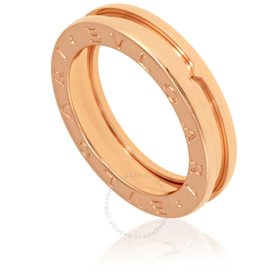 Bvlgari B.Zero1 18K Rose Gold 1-Band Ring, Brand Size 64 (US Size 10.75) | Joma Shop