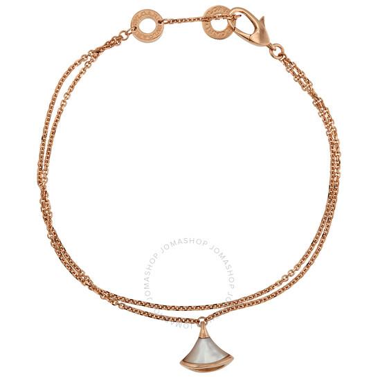 Bvlgari Divas Dream 18kt Rose Gold Bracelet- M/L   Joma Shop