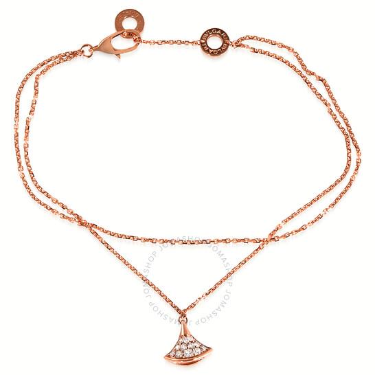 Bvlgari Divas Dream Bracelet In 18 Kt Rose Gold, Brand Size M/L | Joma Shop