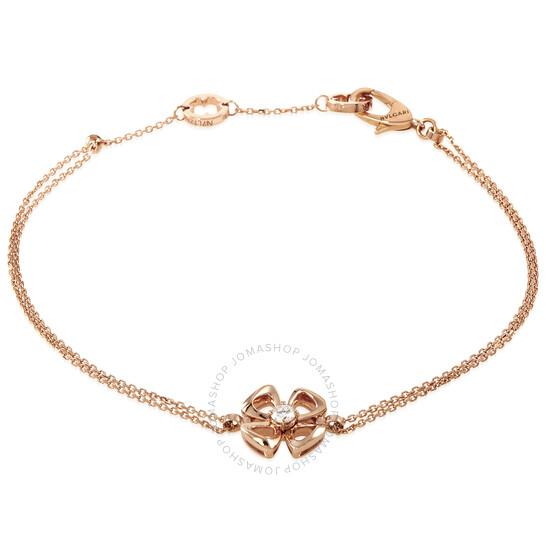 Bvlgari Fiorever 18KT Rose Gold Bracelet- Size M/L | Joma Shop