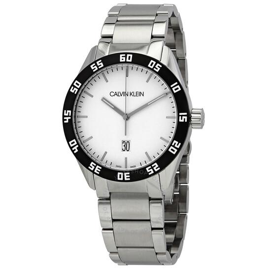 Calvin Klein Complete Quartz Silver Dial Mens Watch K9R31C46