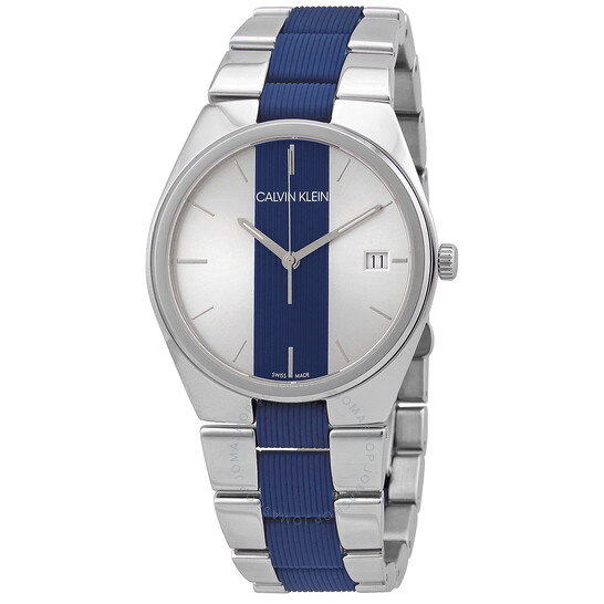 Calvin Klein Contrast Quartz Men's Watch (K9E211VX)