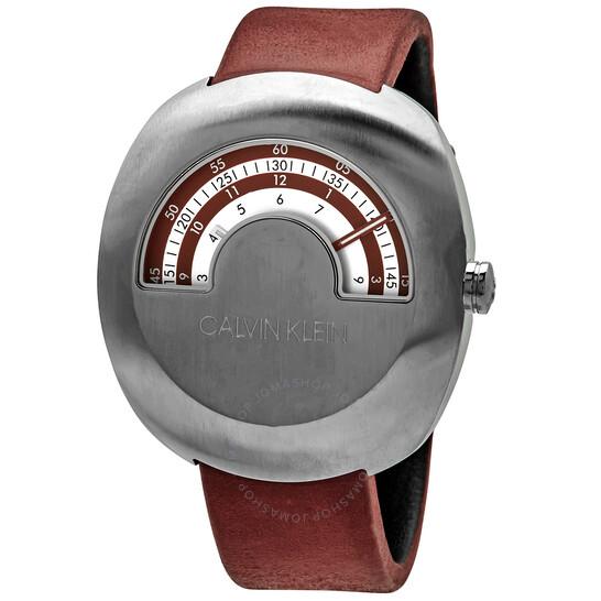 Calvin Klein Glimpse Quartz Silver Dial Mens Watch K9M311UP