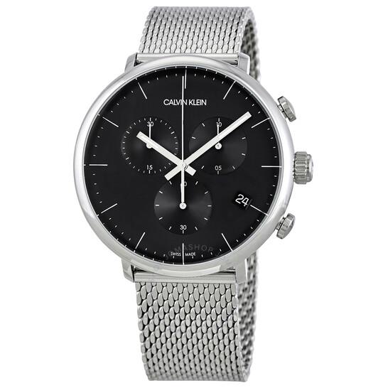 Calvin Klein High Noon Chronograph Quartz Black Dial Mens Watch K8M27121