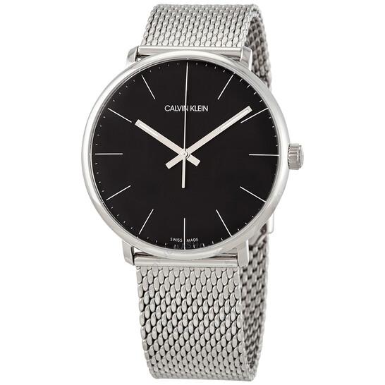 Calvin Klein High Noon Quartz Black Dial Mens Watch K8M21121