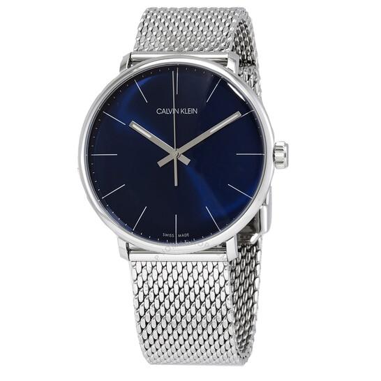 Calvin Klein High Noon Quartz Blue Dial Mens Watch K8M2112N