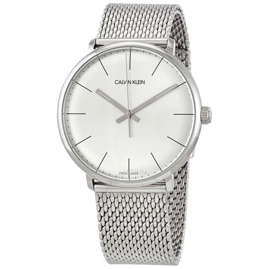 Calvin Klein High Noon Quartz Silver Dial Mens Watch K8M21126