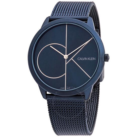 Calvin Klein Minimal Quartz Blue Dial Men's Watch K3M51T5N   Joma Shop