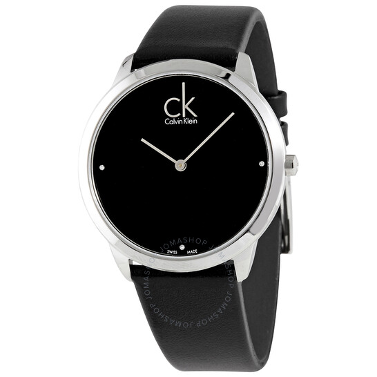 Calvin Klein Minimal Quartz Diamond Mens Watch K3M211CS