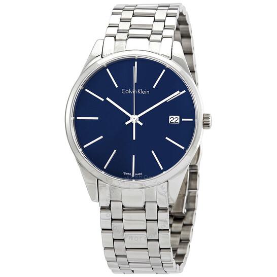 Calvin Klein Time Blue Dial Men's Watch K4N2314N | Joma Shop