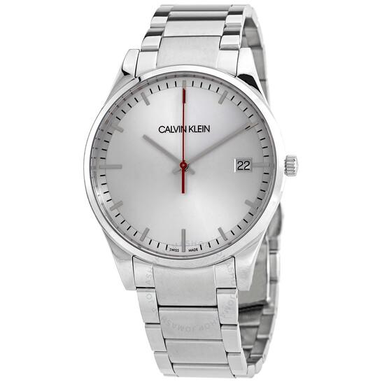 Calvin Klein Time Quartz Silver Dial Mens Watch K4N2114Y