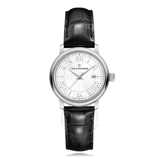 Carl F. Bucherer Adamavi Automatic Silver Dial Ladies Watch 00.10320.08.15.01 | Joma Shop