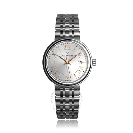 Carl F. Bucherer Adamavi Automatic Silver Dial Ladies Watch 00.10320.08.15.22   Joma Shop