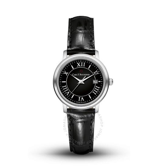 Carl F. Bucherer Adamavi Quartz Black Dial Ladies Watch 00.10315.08.35.01 | Joma Shop