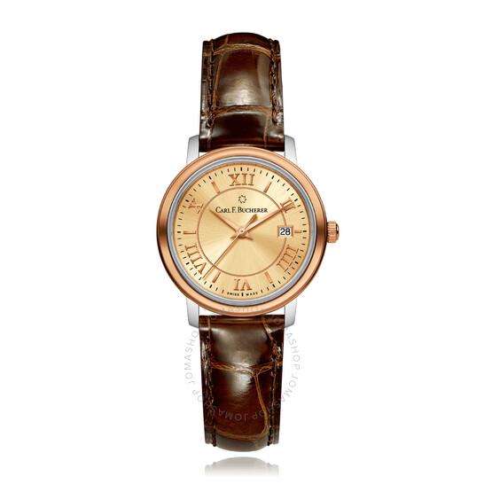 Carl F. Bucherer Adamavi Quartz Champagne Dial Ladies Watch 00.10315.07.45.01   Joma Shop