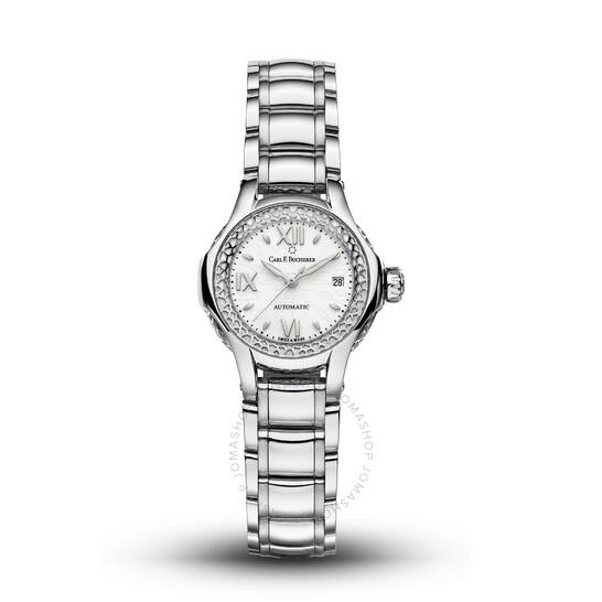 Carl F. Bucherer Pathos Queen Automatic White Dial Ladies Watch 00.10550.08.25.21 | Joma Shop