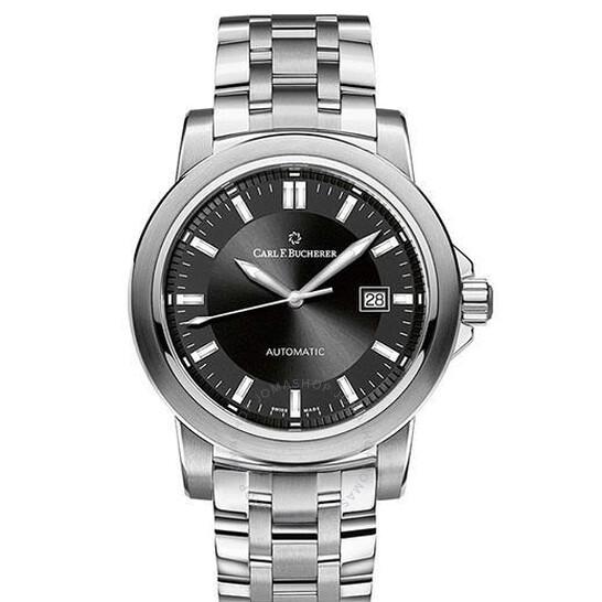 Carl F. Bucherer Patravi Autodate Automatic Black Dial Watch 00.10636.08.33.21 | Joma Shop