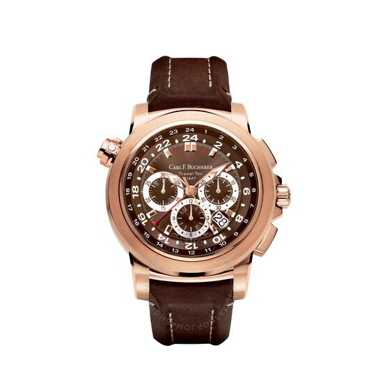 Carl F. Bucherer Patravi Traveltec Chronograph Automatic Men's Watch 00.10620.03.93.01   Joma Shop