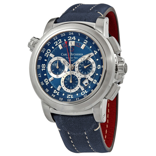Carl F. Bucherer Patravi TravelTec Chronograph Automatic Men's Watch 00.10620.08.53.01 | Joma Shop