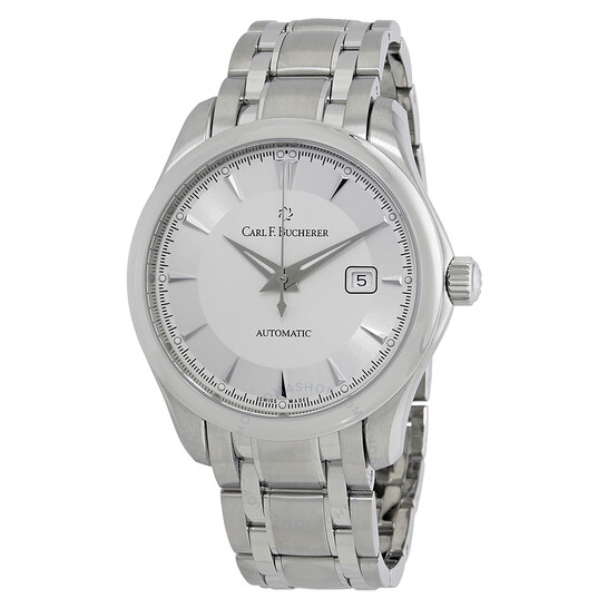 Carl F. Bucherer Manero AutoDate Silver Dial Men's Watch 00.10915.08.13.21   Joma Shop
