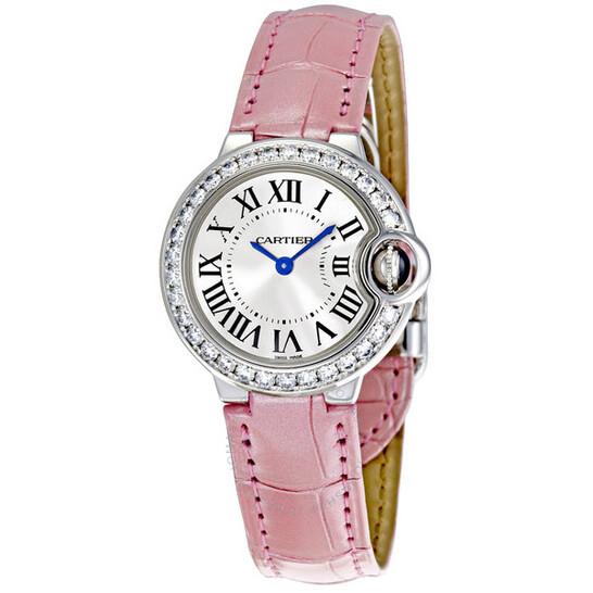 Cartier Ballon Bleu de Cartier 18k White Gold Small Watch WE900351 | Joma Shop