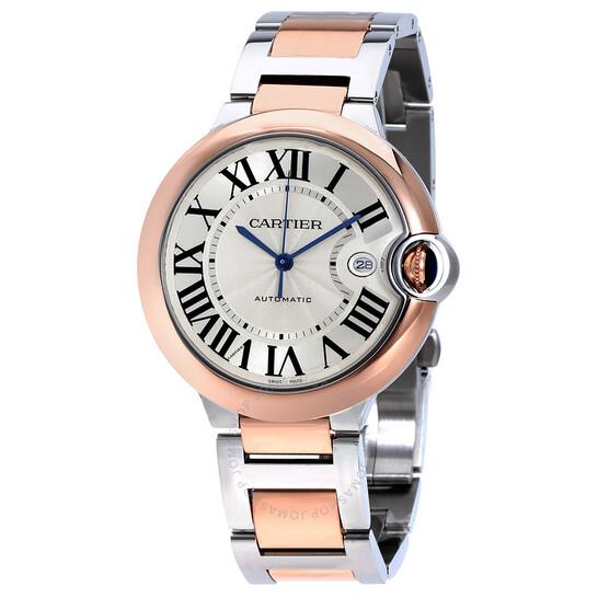 Cartier Ballon Bleu De Cartier Guilloche Dial Automatic Men's Watch W2BB0004 | Joma Shop