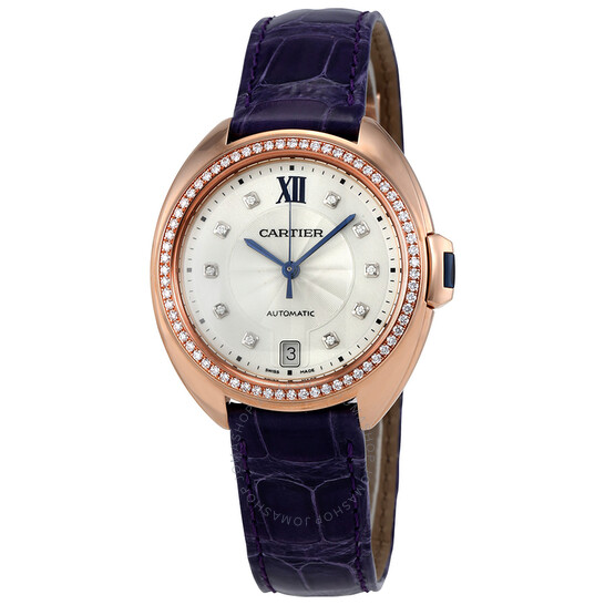 Cartier Cle Automatic Ladies Watch WJCL0039   Joma Shop