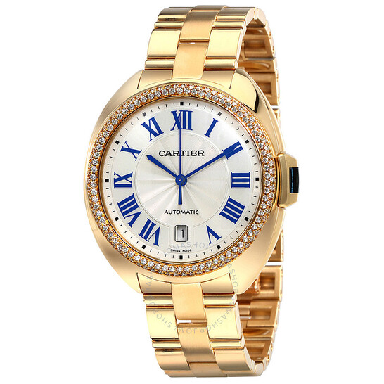 Cartier Cle Flinque Sunray Effect Dial 40mm Watch WJCL0010 | Joma Shop