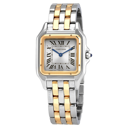 Cartier Panthere Silver Dial Ladies Watch W2PN0007 | Joma Shop