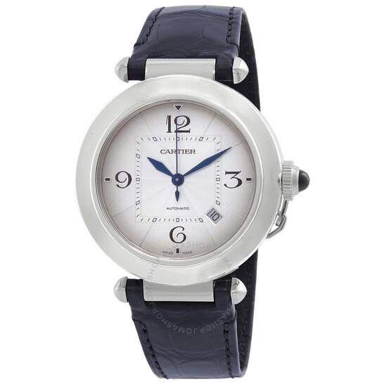 Cartier Pasha Automatic Silver Dial Men's Watch WSPA0010   Joma Shop
