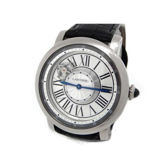 Cartier Rotonde de Cartier Astrotourbillon 18 kt White Gold Men's Watch W1556204   Joma Shop