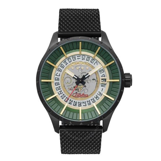 Cccp Vlasov Automatic Green Dial Men's Watch CP-7056-44 | Joma Shop