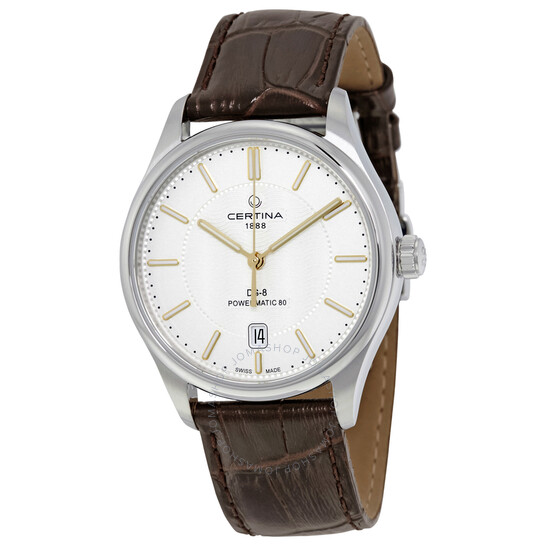 Certina DS-8 Automatic Silver Dial Men's Watch (C033.407.16.031.00)