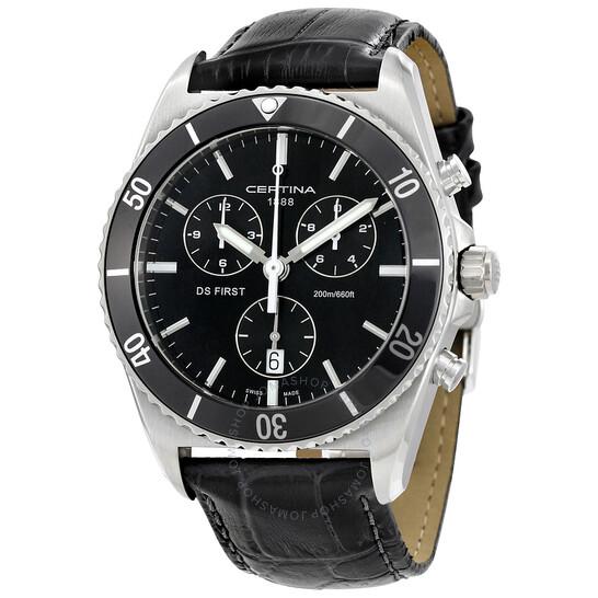 Certina DS First Ceramic Chronograph Men's Watch C0144171605100 - 546x546