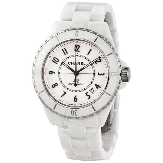 Chanel J12 White Dial Ladies Watch H5700   Joma Shop
